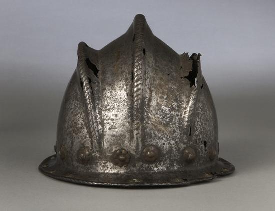 16th Century Italian Three Comb Morion