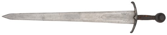 A Fine And Rare Late Medieval Italian Short Sword