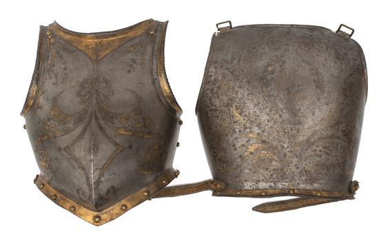 16th Century Papal Half Suit of Armor