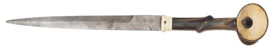 An Extremely Rare Eared Dagger Italian Circa 1500 (?)