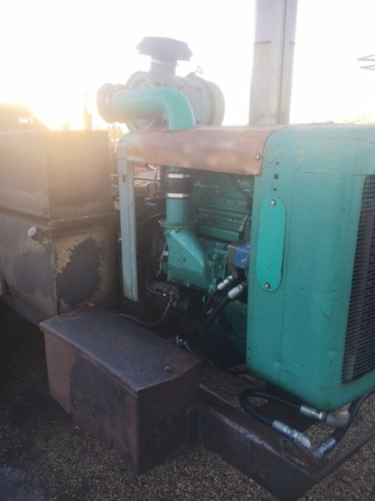 1983-1984 RONCO TRENCHER, GREEN IN COLOR, RUNS