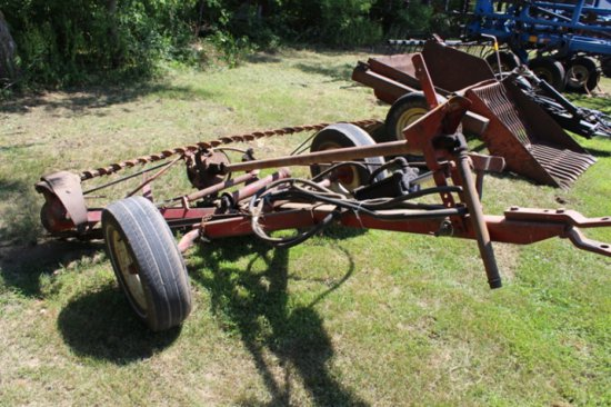 IH 27 7' TRAILER TYPE SICKLE MOWER, FLOATING
