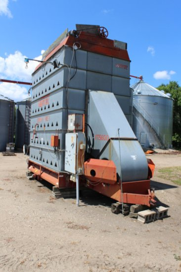 VERTEC VT5600 GRAIN DRYER, APPROX 360 BU,