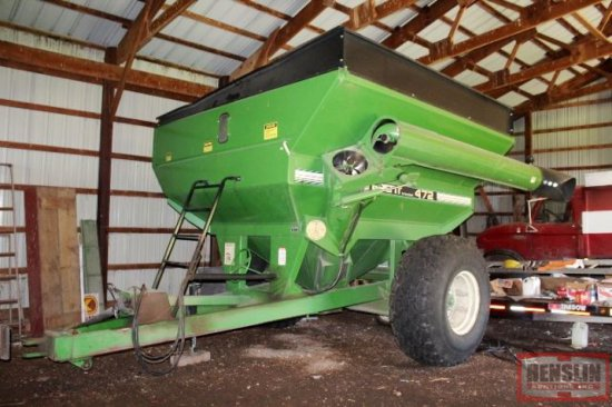 "BRENT 472 GRAIN CART, 14"" FRONT CORNER UNLOAD"