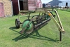 JD MODEL 894A 4 BAR HAY RAKE, LR