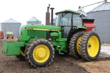 1990 JD 4755 MFWD, CAB, AIR, HEAT, DIESEL,