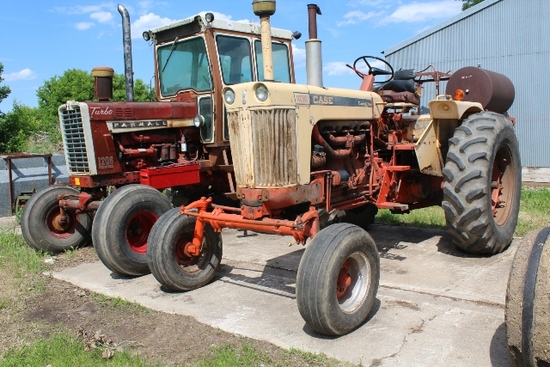 CASE 1030 COMFORT KING, 4,435 HOURS SHOWING,