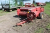 MF MODEL 12 SMALL SQUARE BALER, BELT THROWER