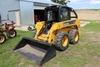JOHN DEERE 320 SKID LOADER, ENCLOSED CAB,