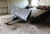 *** 1994 2 PLACE KARAVAN SINGLE AXLE SNOWMOBILE TRAILER,