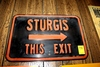 Sturgis ThisExit sign
