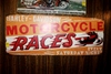 Harley Davidson Motorcycle Races metal