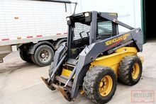 NEW HOLLAND LS180 SKID LOADER, OPEN CAB, 2 SPD