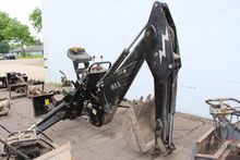 QUICK TATCH SKID LOADER MOUNT BACKHOE ATTACHMENT