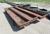 "(3) FEED BUNKS 28"" X 16' X 24"",  $ X 3"