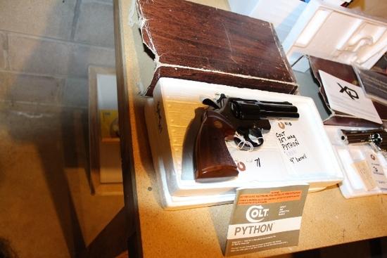 "COLT 357 MAGNUM PYTHON, 7"" BARREL, NEW IN BOX"