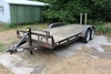 "*** 1995 DCT TANDEM AXLE FLATBED TRAILER, 80""X18', RAMPS,"