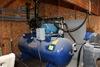 CASTAIR HORIZONTAL 120 GAL AIR COMPRESSOR,
