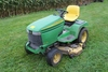 JD 345 LAWN TRACTOR, HYDRO, 18 HP LIQUID COOLED,