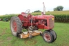 "1948 FARMALL C, NF, 59"" BELLY MOWER, FENDERS, 11-38'S, NEW BATTERY"