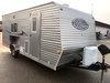 ***2011 8' X 18' SALEM ICE CABIN, CEDAR INTERIOR,