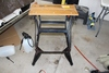 BLACK AND DECKER WORKMATE 200 PORTABLE WORK BENCH