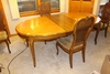"46"" X 66"" X 29"" DINING ROOM TABLE, 20"" LEAF,"