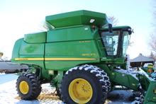 2011 JOHN DEERE 9870 STS BULLET ROTOR PRWD COMBINE
