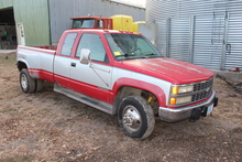 1993 CHEVROLET SILVERADO 3500 1 TON DUALLY LONGBOX