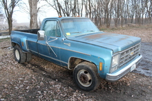 1979 CHEVROLET 30 1 TON DUALLY PICKUP, SILVERADO,