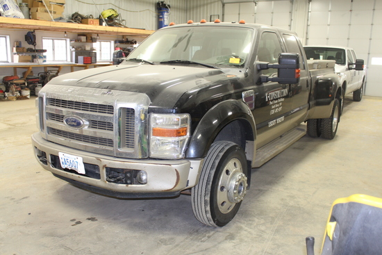 *** 2008 FORD F-450 KING RANCH CREW CAB PICKUP,