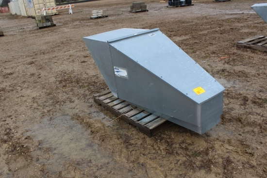"AIR LANC 24"" BIN ROOF FAN, 24"" FAN & MOTOR,"