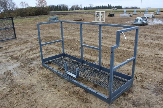 "30"" X 90"" STEEL PLATFORM, TAX NO EXCEPTIONS"