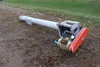 "10"" X 12'2"" AUGER WITH ELECTRIC MOTOR,"
