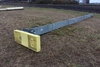 "10"" X 30' U TROUGH CONVEYOR, 3 HP,"