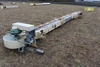 "9"" X 22' GRAIN LEG, 3 HP, 3 PHASE ELECTRIC MOTOR,"