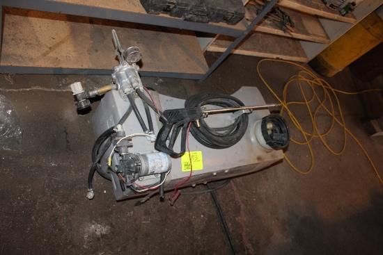 25 GALLON POLY ATV SPRAYER, 12 VOLT
