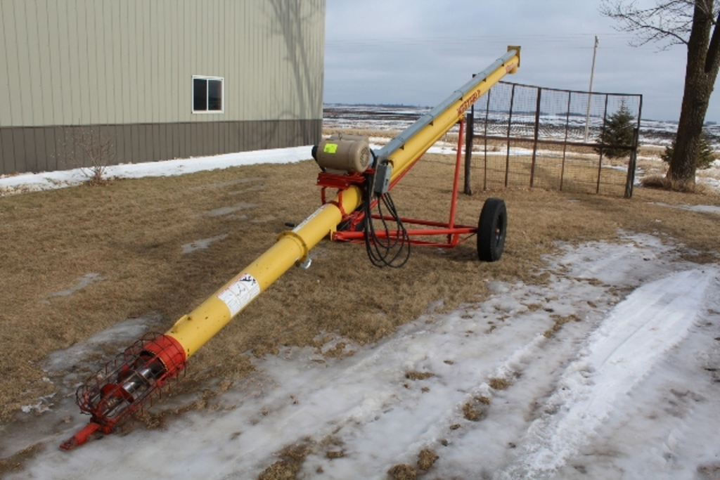 WESTFIELD 80-31' AUGER, 7.5 HP ELECTRIC MOTOR