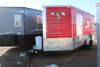 *** 2015 6 1/2' X 14'V AMERICAN SURPLUS ICE CASTLE FISH HOUSE, STINGER, SINGLE AXLE FRAME,