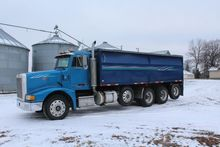 *** 1990 PETERBILT 377 QUAD AXLE TRUCK,
