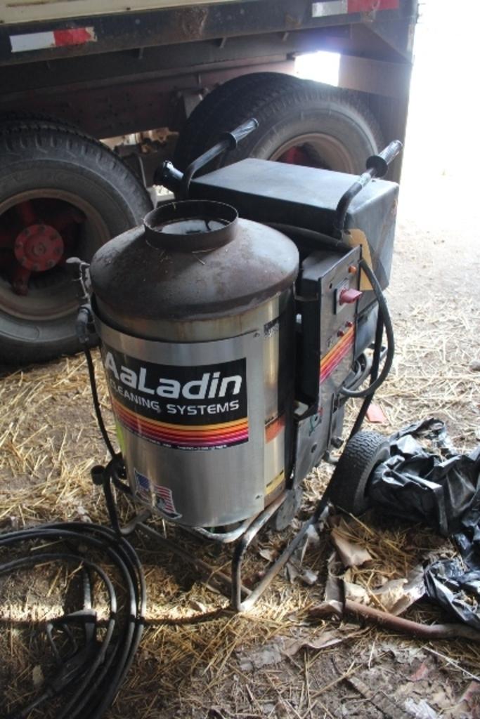 AALADIN MODEL 1440 HOT WATER PRESSURE