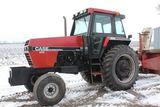 1987 CASE IH 1896 2WD TRACTOR, CAD,