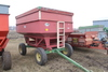 J&M GRAVITY BOX, APPROX 250 BU ON JD GEAR, EXT