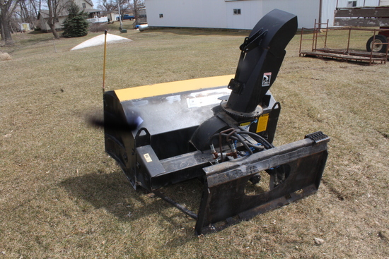 "66"" LOFTNESS SNOWBLOWER, SKIDLOADER QUICK TACH,"
