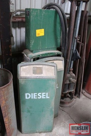 GAS BOY DSL PUMP, MODEL 153EK2U, SN#888525
