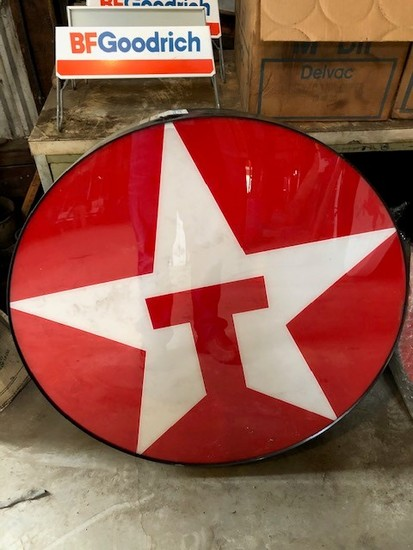 "1994 33"" Lighted Texaco New Old Stock Sign"