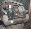 QUINCY AIR COMPRESSOR WITH ELECTRIC MOTOR,