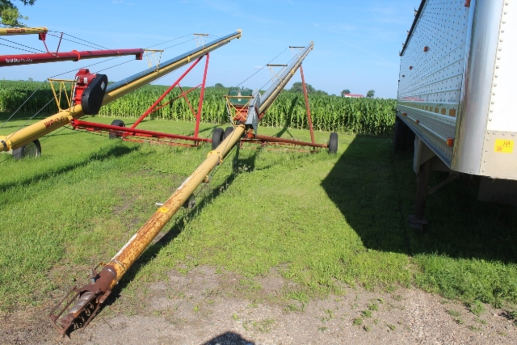 Lot: WESTFIELD WR 60-61' AUGER, 5 HP ELECTRIC MOTOR