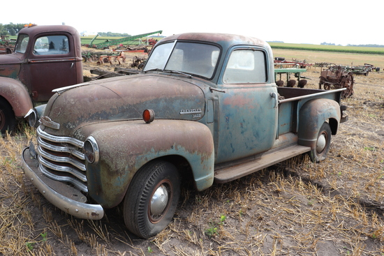 CHEVY 3600 PICKUP, NO ENGINE, 21,778 MILES SHOWING