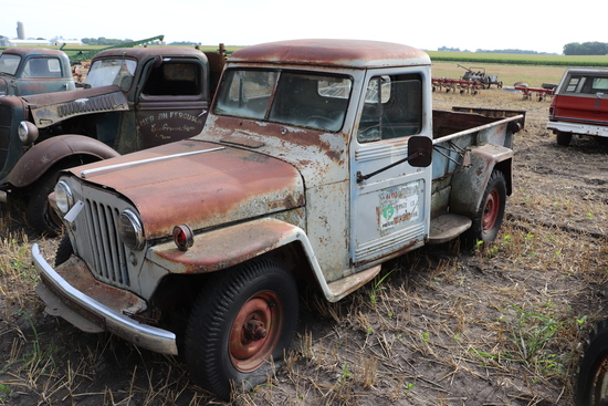 JEEP PICKUP, 4X4, 4 CYLINDER, 50,902 MILES SHOWING